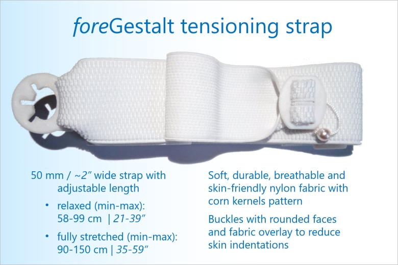 foreGestalt companion - Tensioning strap specifications & features